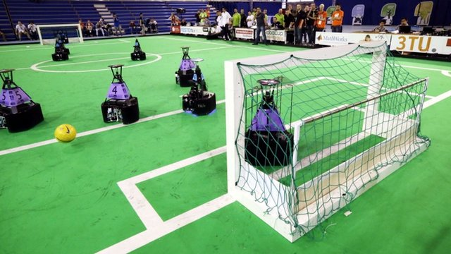 The Dutch robot-football team Tech United