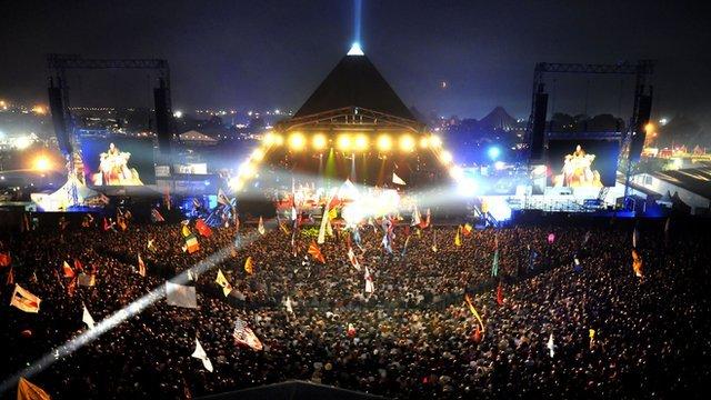 Glastonbury's Pyramid Stage