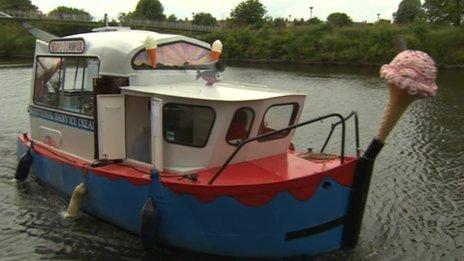Ice Cream Boat