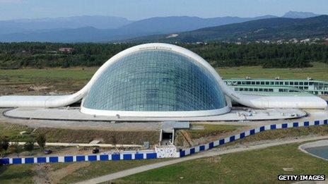 Georgia's new parliament building