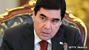 Turkmen President Berdymukhamedov