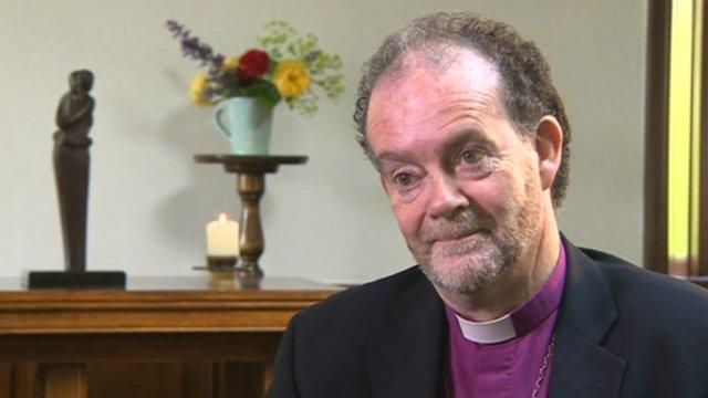 The Bishop of Liverpool James Jones