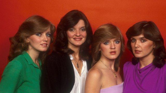 The Nolan Sisters: Linda, Anne, Bernie and Maureen