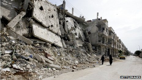 Baba Amr district of Homs (2 July)