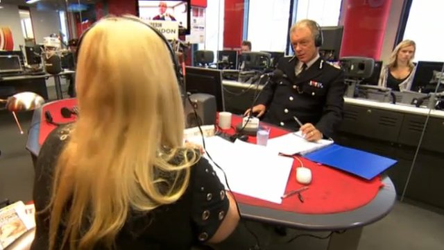 Sir Bernard Hogan-Howe on BBC London 94.9