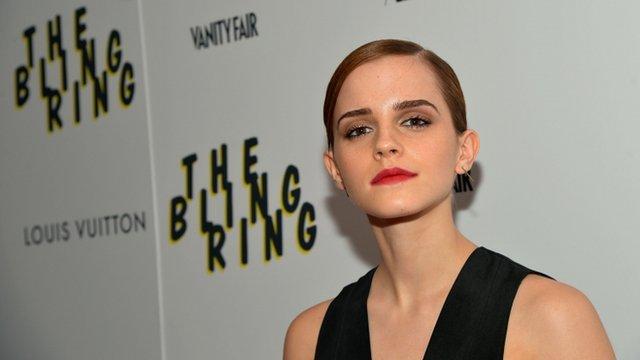 Actress Emma Watson