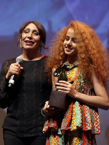 Haifaa Al Mansour and Waad Mohammed