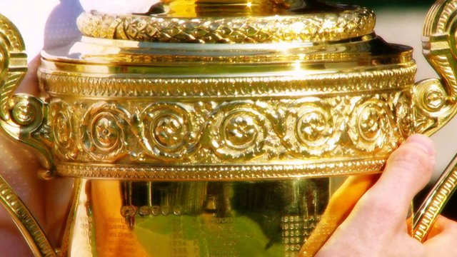 Wimbledon men's trophy