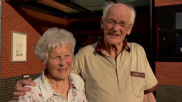 Shirley and Roy Erskine