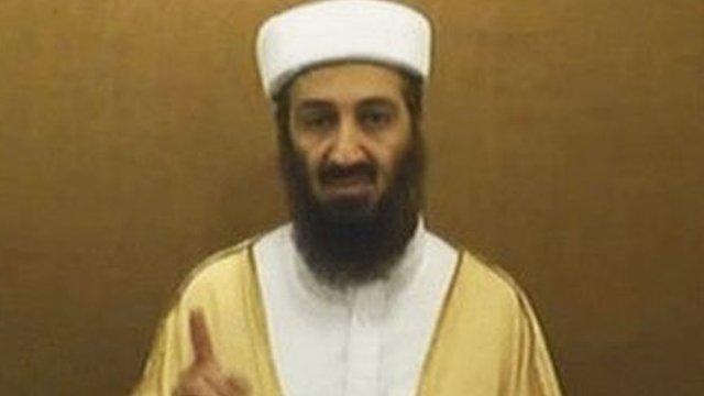 Purported Bin Laden video in 2007