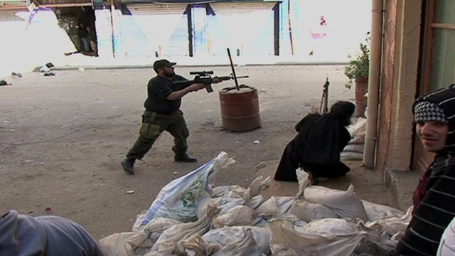Sectarian fighting in Tripoli, Lebanon