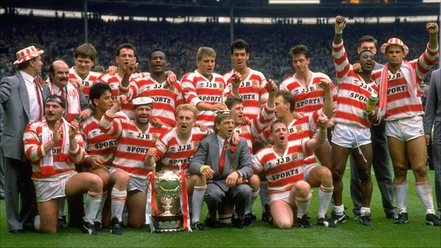 Wigan 1988 Challenge Cup winners