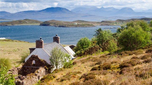 Murdo's cottage, Tanera Mor