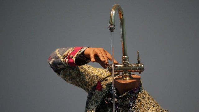 A sculpture by Yinka Shonibare MBE