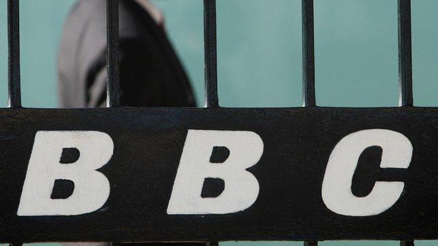 BBC logo at BBC Television Centre