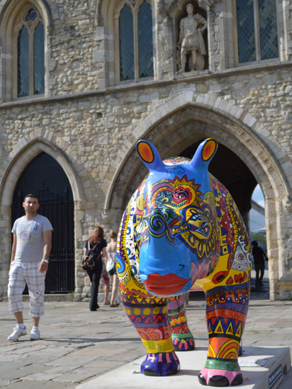 Rhino at Bargate