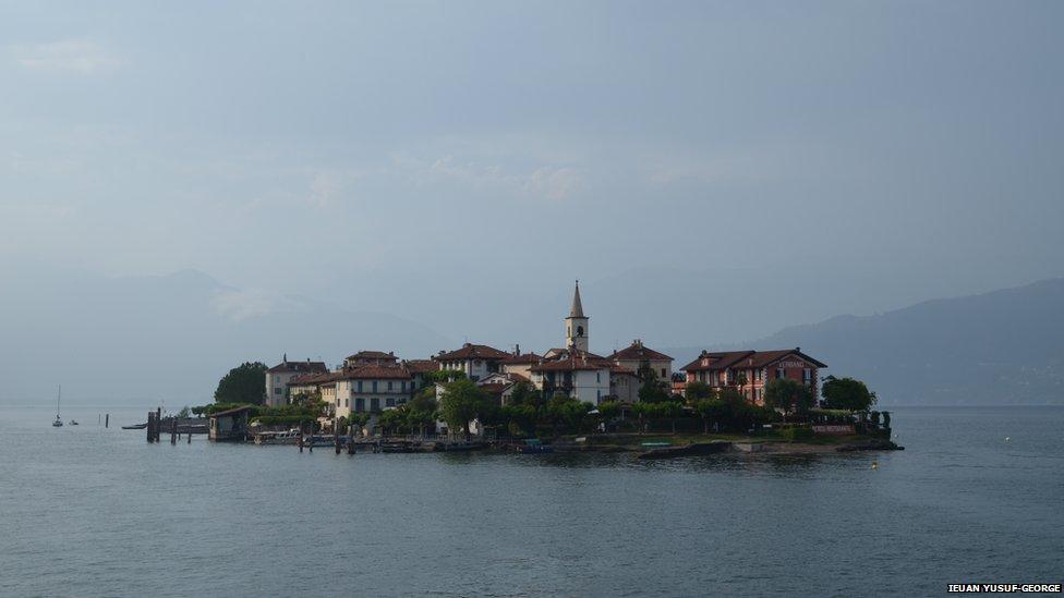 Isola dei Pescatori on Lago Maggiore