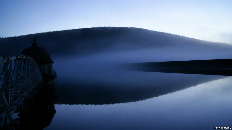 Talla Reservoir in Scotland