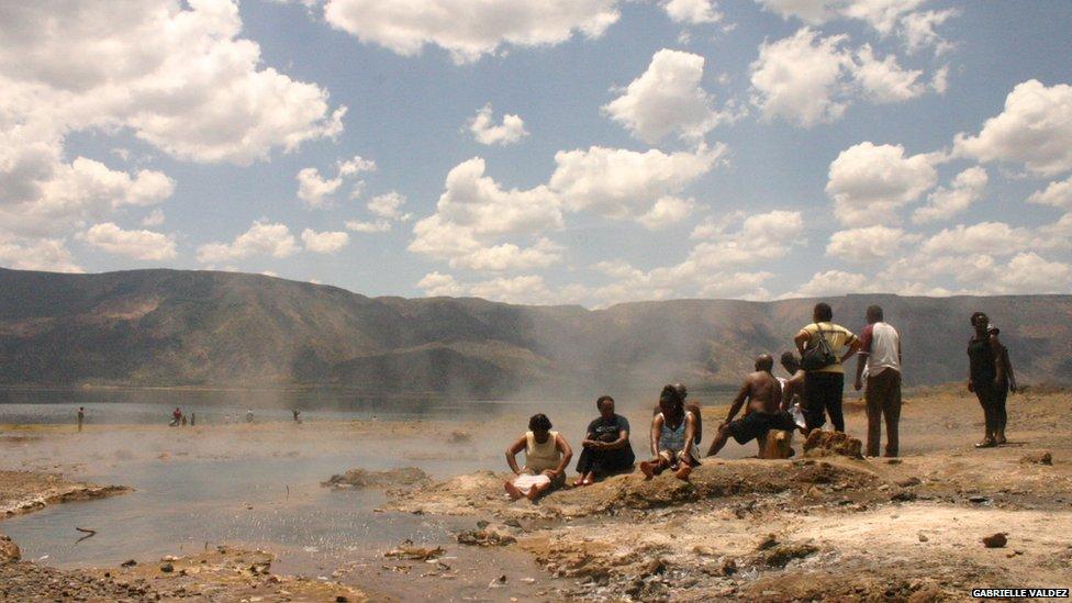 Lake Bogoria in Kenya