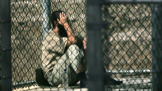 An inmate of Guantanamo Bay