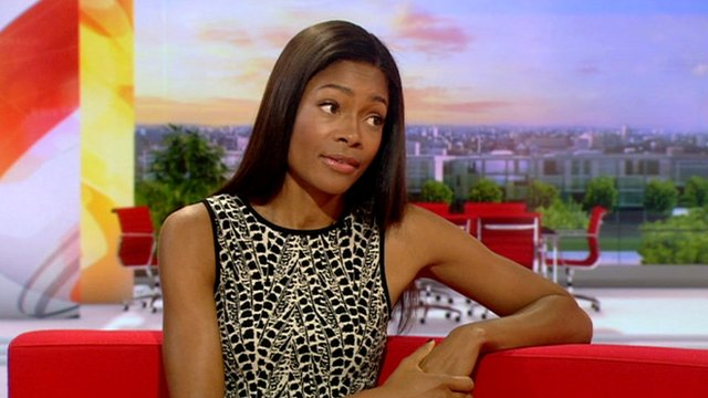 Naomie Harris on BBC Breakfast