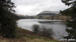 Cronfa ddŵr Cantref, Powys