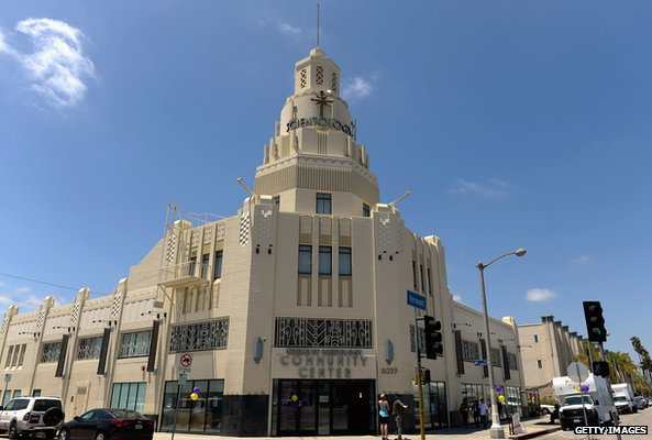 Church of Scientology community centre in Los Angeles