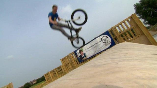 Colwick skate park