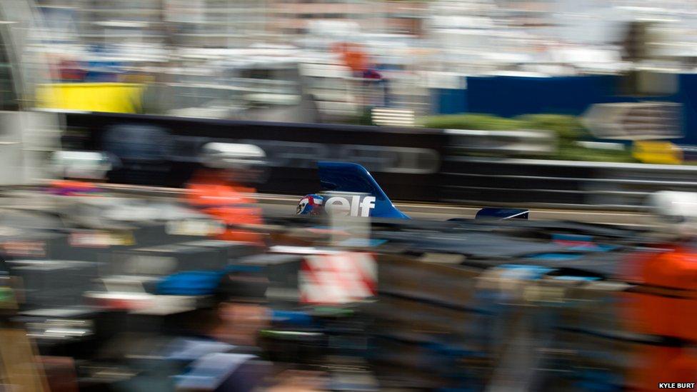 Tyrrell Elf in Monaco