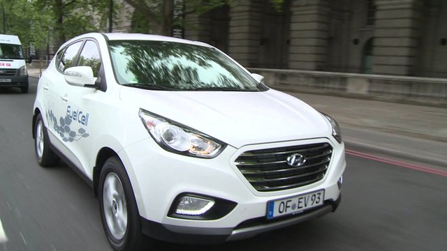 Hydrogen fuelled Ix35