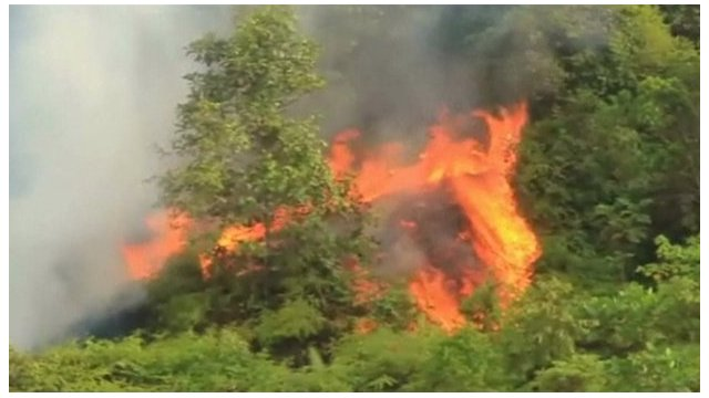 Indonesian fire