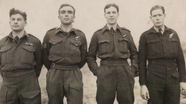 (l-r) David Raikes, David Perkins, Alexander Bostock, and John Hunt