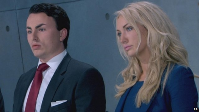 Alex Mills and Leah Totton