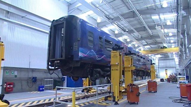 New rail depot in Reading