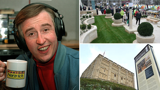 Alan Partridge, the war memorial and the castle