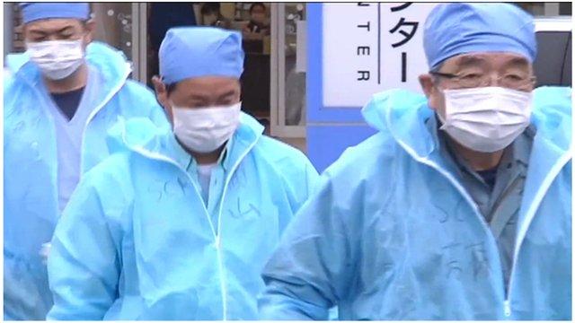 Fukushima workers