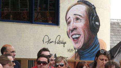 Alan Partridge mural