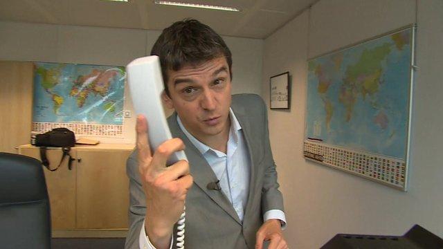 Matthew Price and telephone