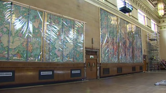 The Brangwyn Hall panels
