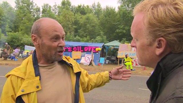 Environmental campaigner Simon Medhurst talks to John Maguire