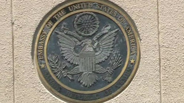 US Embassy emblem