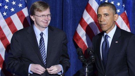 Jim Messina and President Obama
