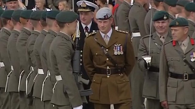 Prince Harry at Devonport Naval Base