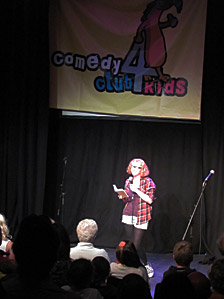 Eleanor Curry at Comedy Club 4 Kids