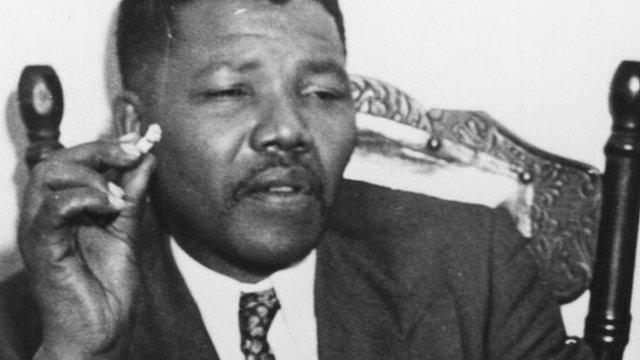 Nelson Mandela in 1964, Getty