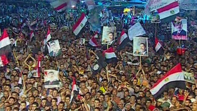 Mohammed Morsi supporters