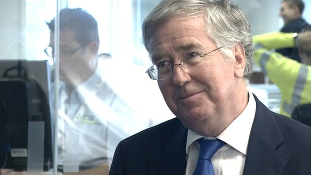 Energy and Business Minister Michael Fallon
