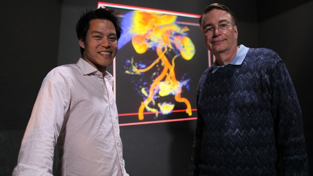 Dr Kevin Fong and Professor Larry Smarr