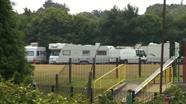 Travellers site in Poole