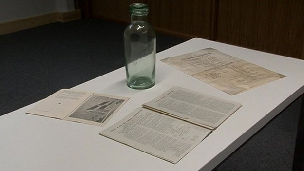 The time capsule and its contents